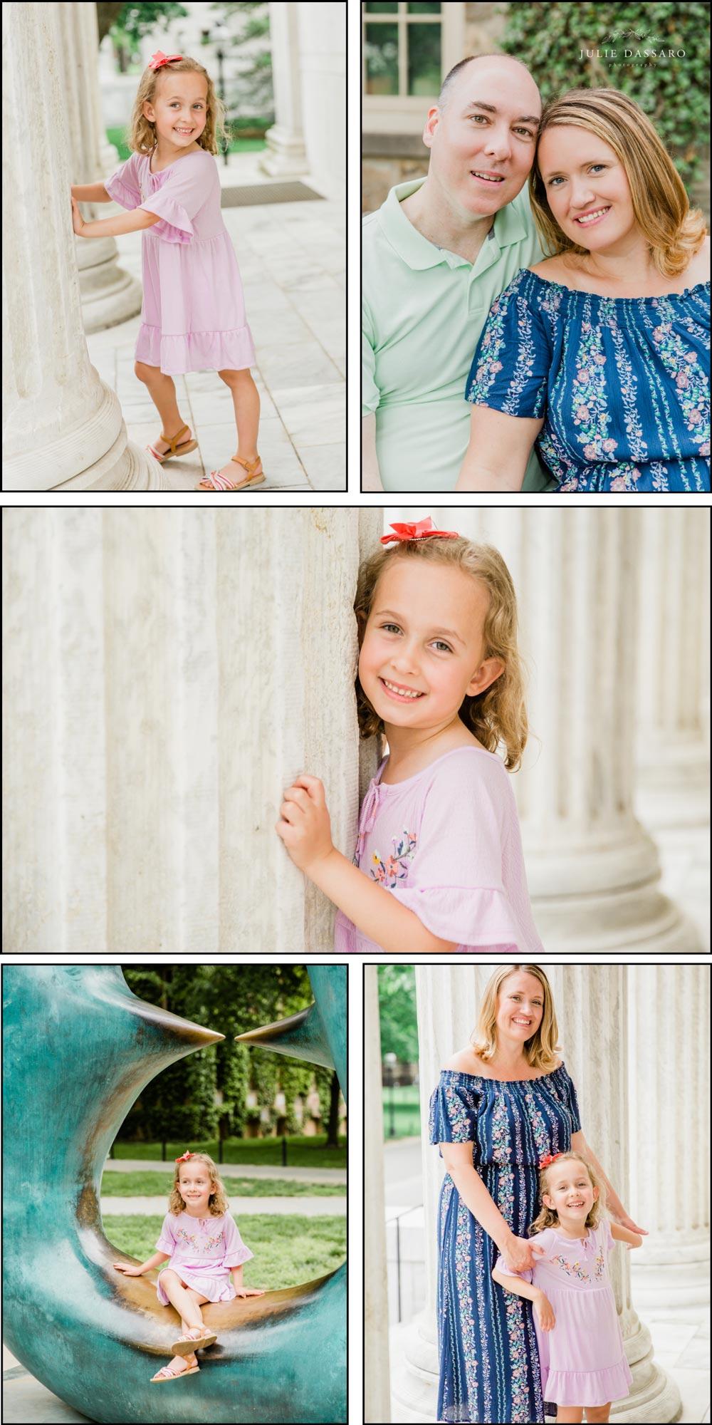 Princeton University | Springtime Family Photos
