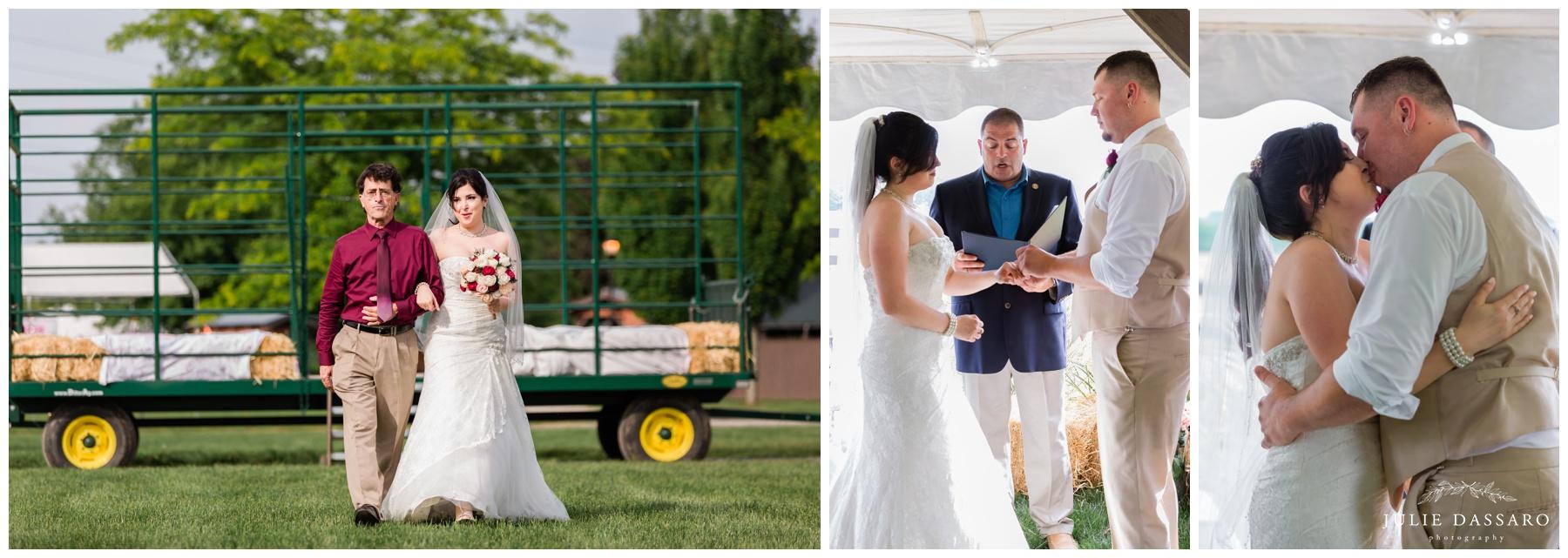 Donaldson Farm NJ wedding
