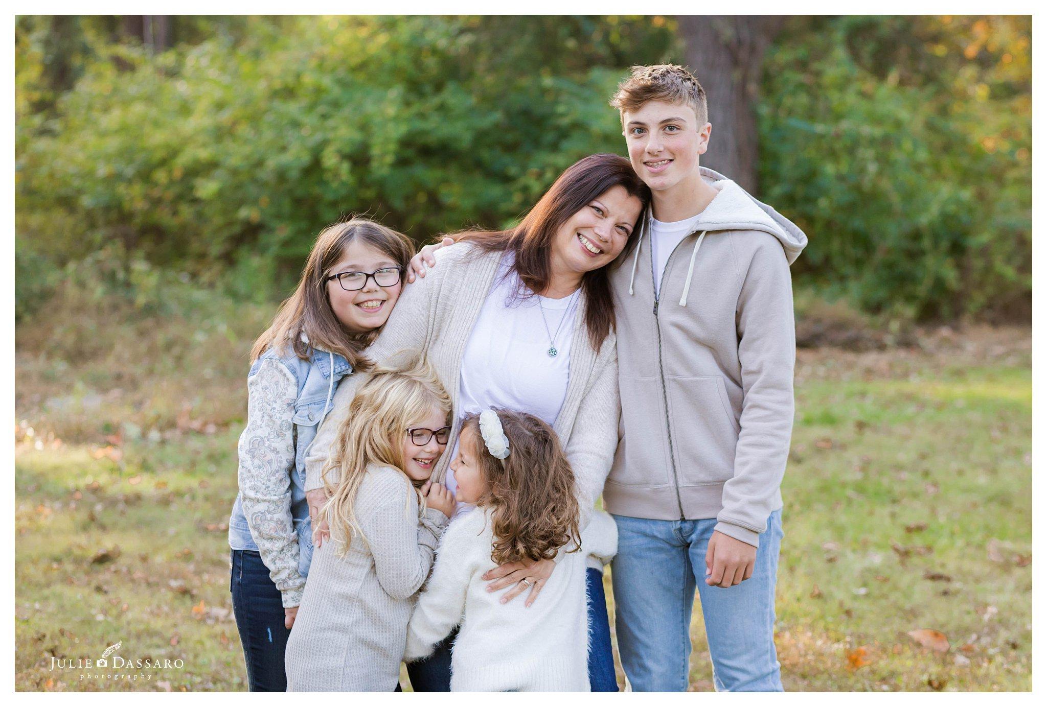 Hillsborough NJ Family Portrait