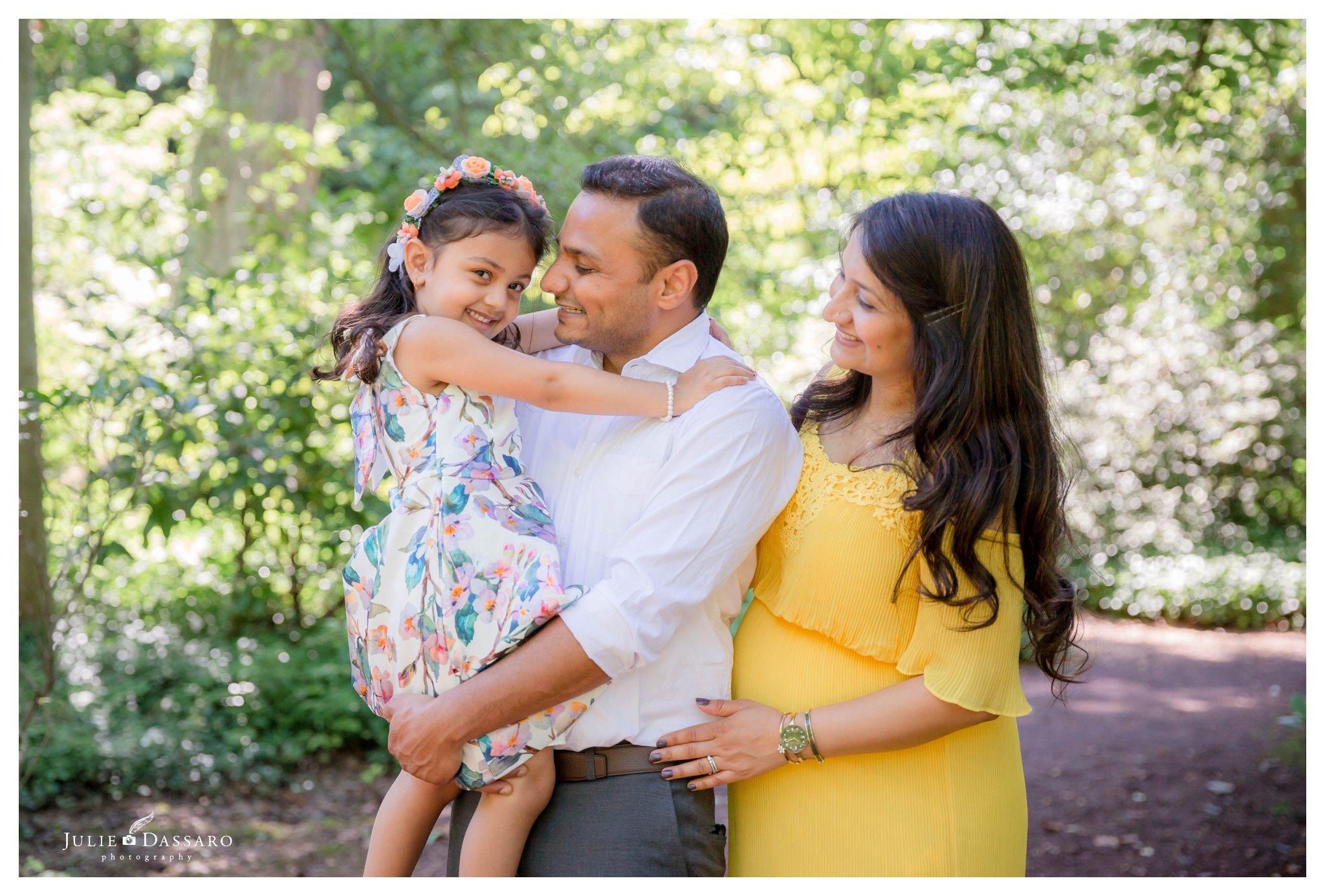 Local Photographer Princeton family portrait
