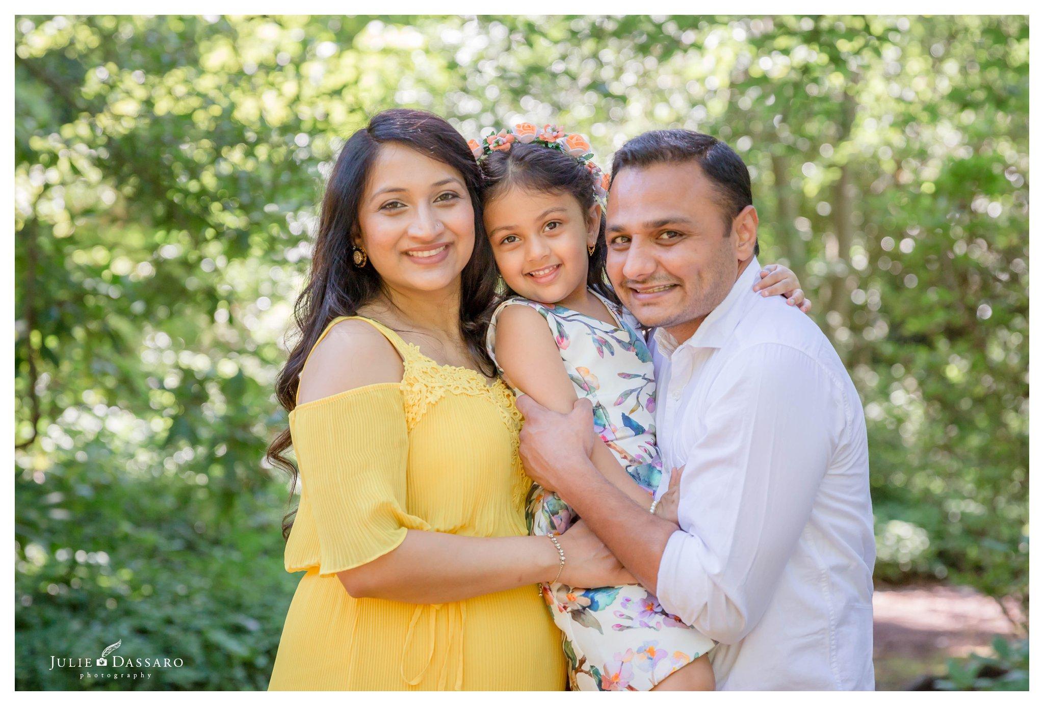 summertime family maternity photos central NJ