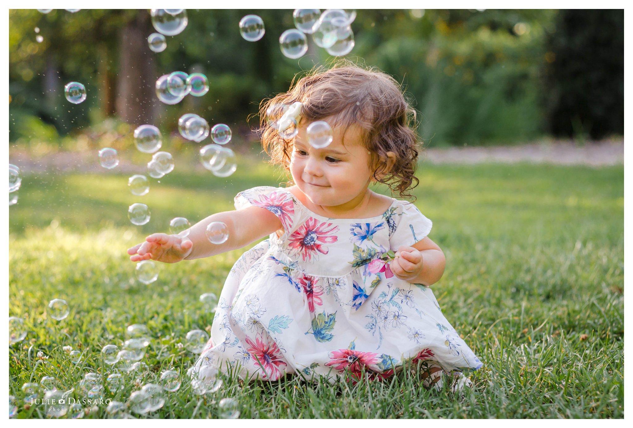 Popping bubbles Somerset NJ