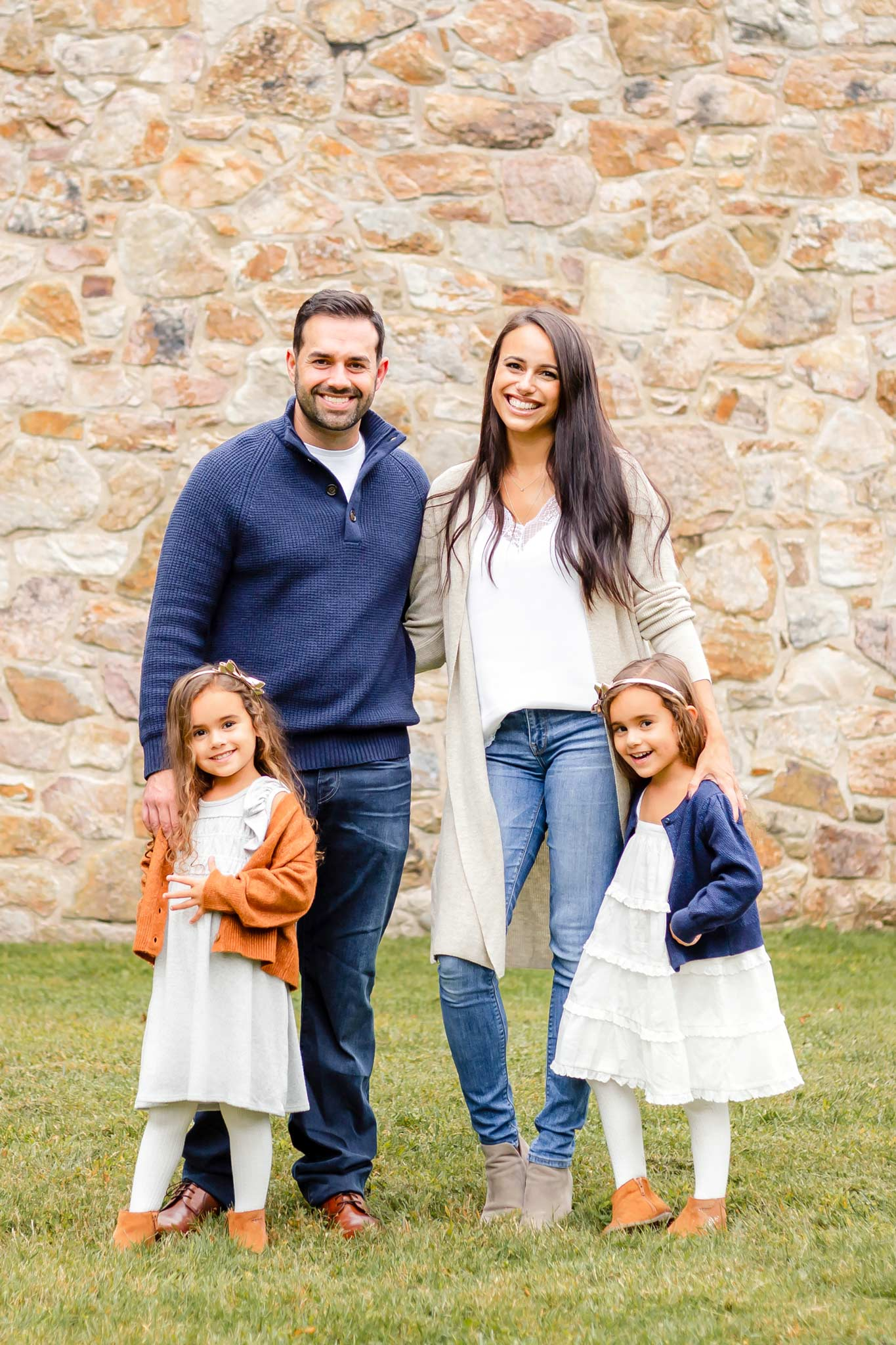 Bucks County Family Portrait